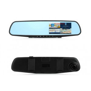 Mirror  Car DVR with GPS & WIFI (D50)